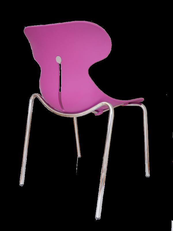 Silla 4 patas mariquita con y sin brazos bogot colombia for Sillas de metal modernas