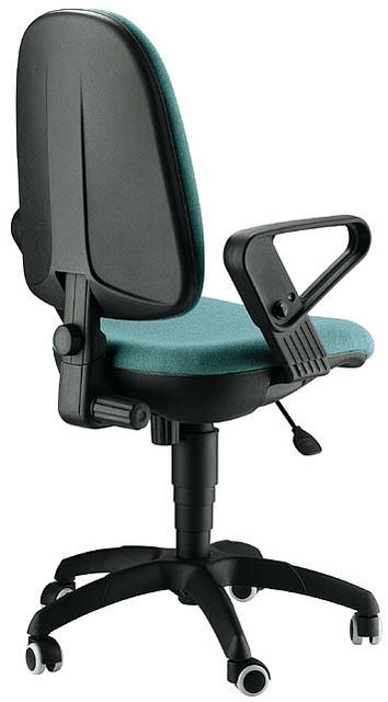Silla ergonomica mecanismo plato alta densidad muebles for Sillas de oficina altas