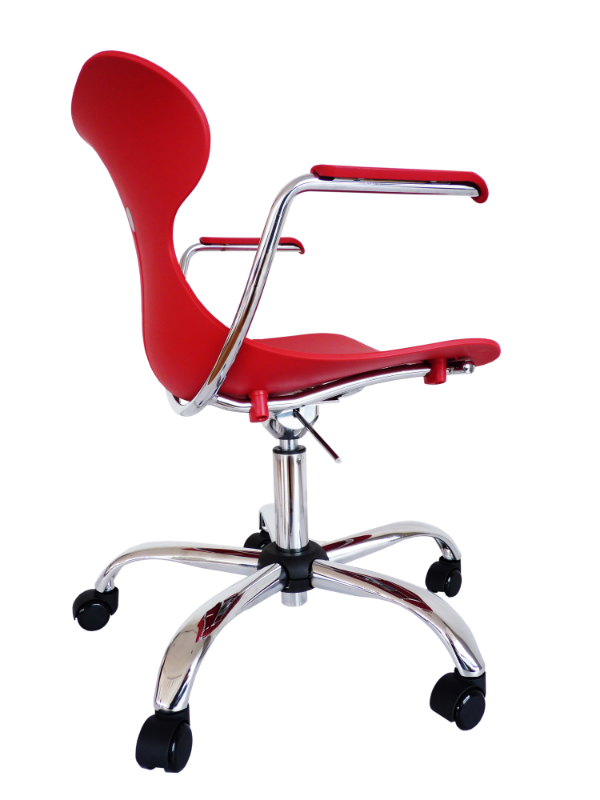 Silla mariquita giratoria con brazos y sin brazos bogot for Silla oficina moderna