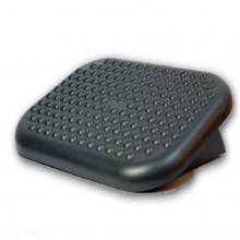 Descansapies Superficie basculante, ajustable en ángulo.  En plástico de alto impacto, con superficie y base antideslizante.