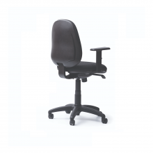 Sillas ergonómicas con espaldar y asiento tapizados