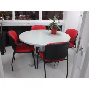 Sala de Juntas redondas para pequeñas reuniones